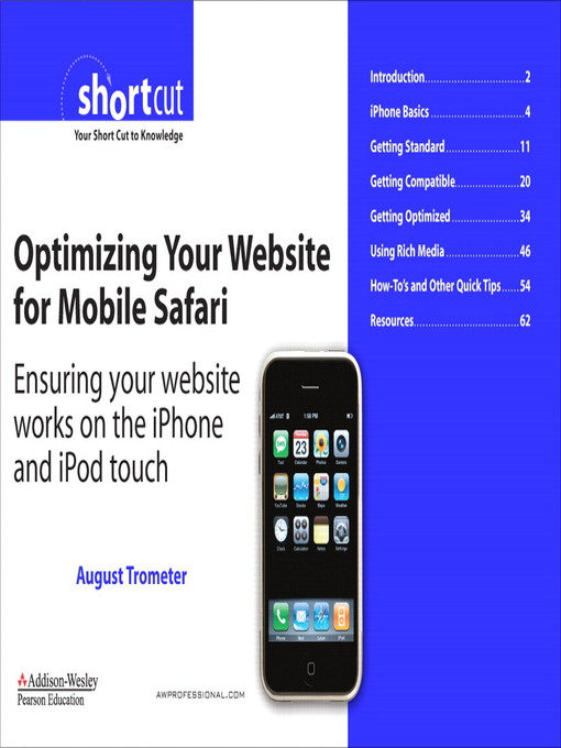 Optimizing Your Website for Mobile Safari (eBook)